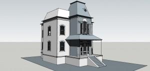 bates house sketchup
