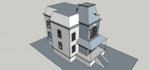 bates house sketchup3