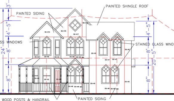 Haunted house layouts