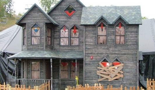 Halloween Haunted House Plans Design