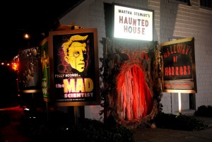 Martha Stewart Haunted House Entrance